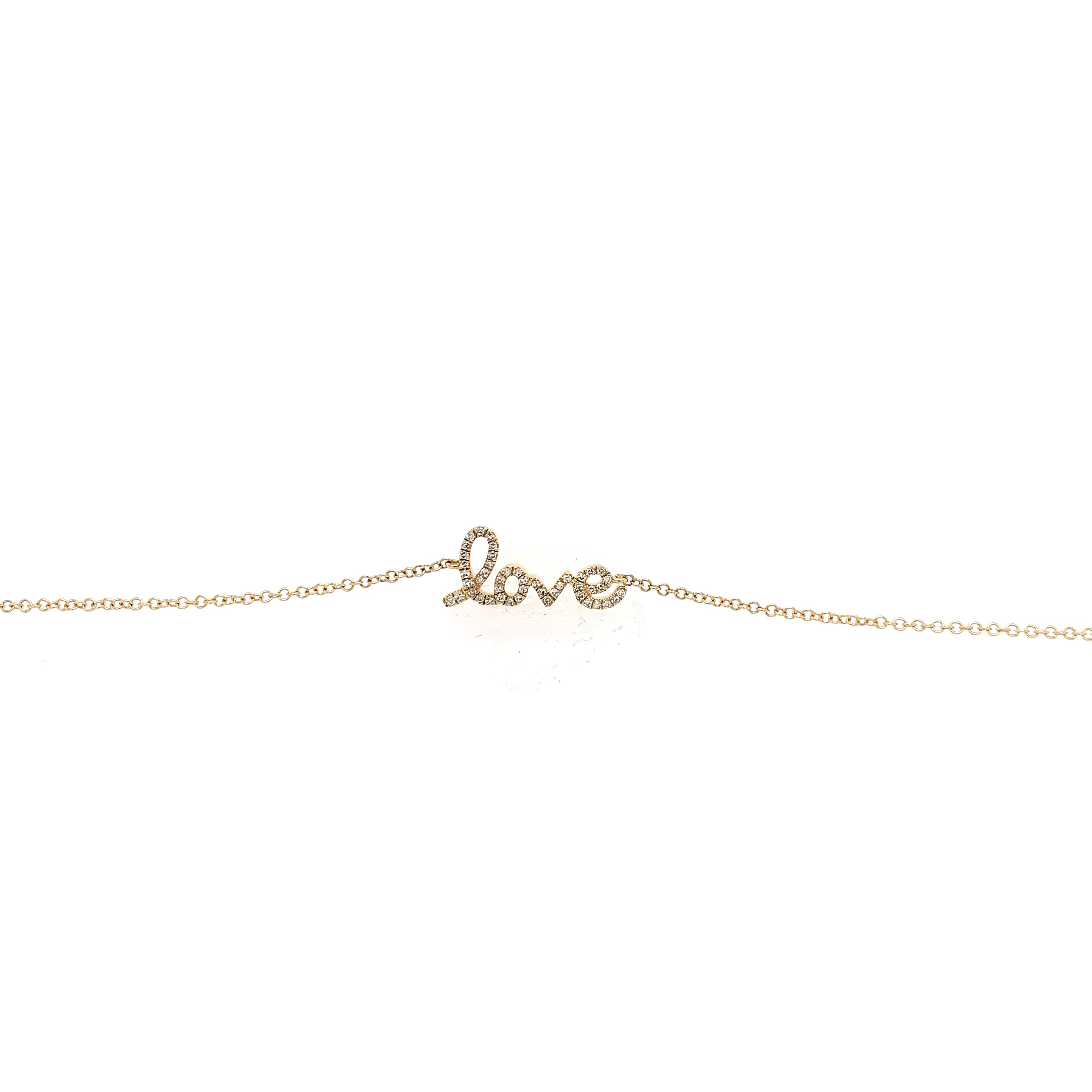 (Love) Diamond Bracelet