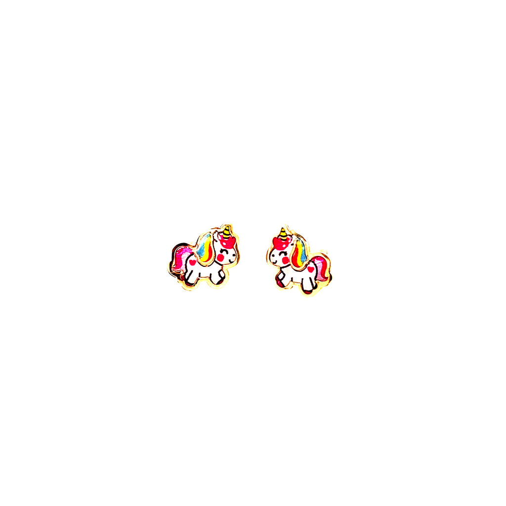Baby Unicorn Multi Color Earrings