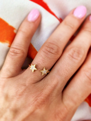 Diamond Stars Ring