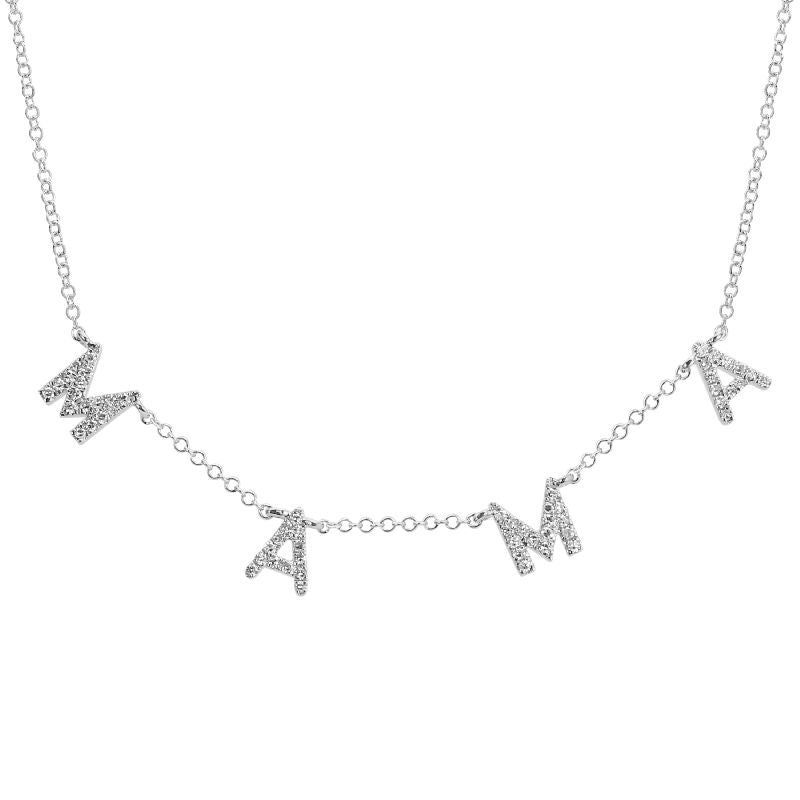 (Mama) Diamond Necklace