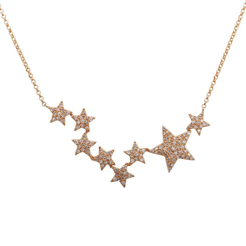 Stars Diamond Necklace