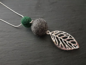 Leaf Pendant - Other Colours Available