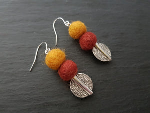 Mariko Drop Earrings - Other Colours Available
