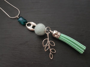 Tassel Nugget pendant - Other colours
