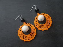 Load image into Gallery viewer, Fiesta Babushka Fun, statement earrings - Other colour available