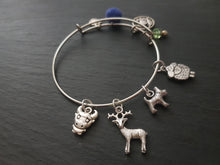 Load image into Gallery viewer, Scottish animal charm bracelet