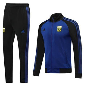 20/21 Argentina Blue/Black Tracksuit - Jersey Loco