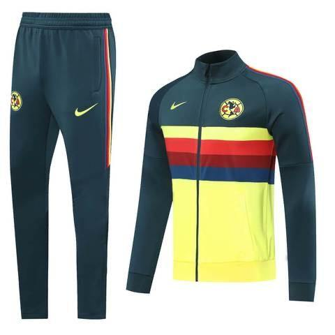 20/21 Club America Multi Color Tracksuit - Jersey Loco