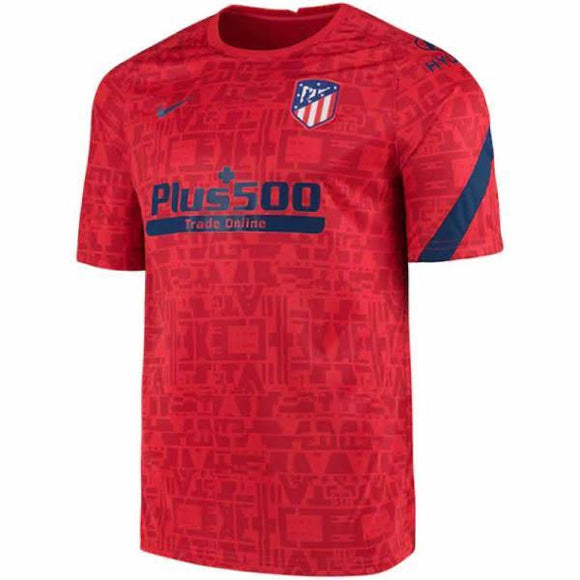Atletico Madrid Pre-Match Red Jersey 20/21 - Jersey Loco