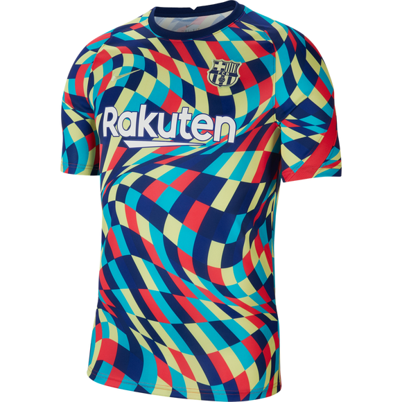 Barcelona Pre-Match Training Jersey 20/21 - Jersey Loco