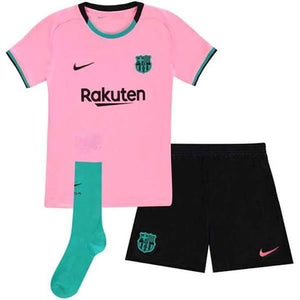 20/21 Barcelona Third Kids Kit - Jersey Loco