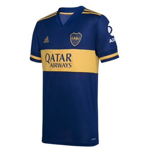 20/21 Boca Junior Home Jersey - Jersey Loco