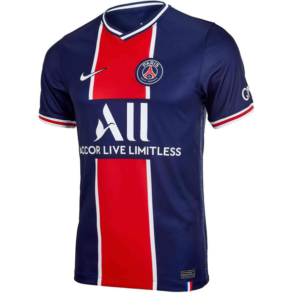 20/21 PSG Home Jersey - Jersey Loco