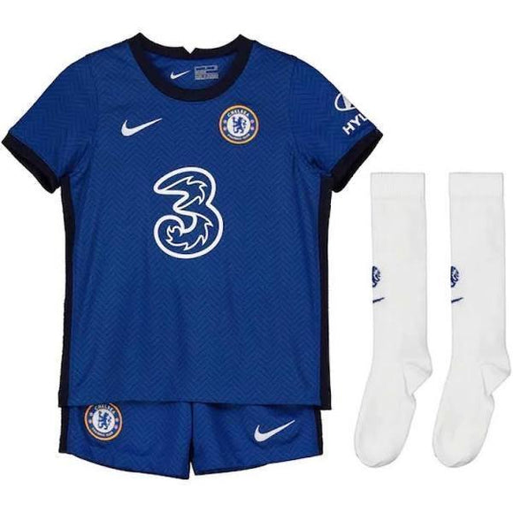20/21 Chelsea Home Kids Kit - Jersey Loco