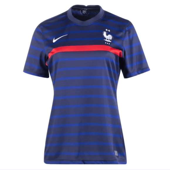 20/21 France Women Home Jersey - Jersey Loco