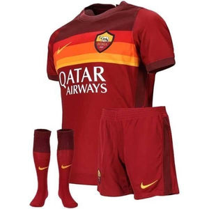 20/21 AS Roma Home Kids Kit - Jersey Loco