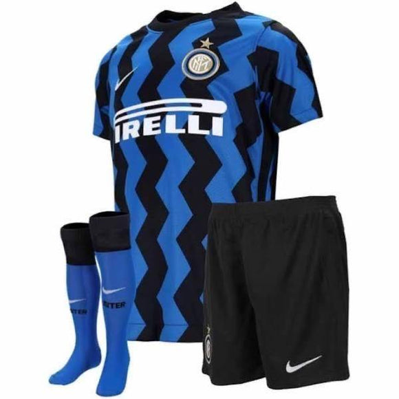 20/21 Inter Milan Home Kids Kit - Jersey Loco