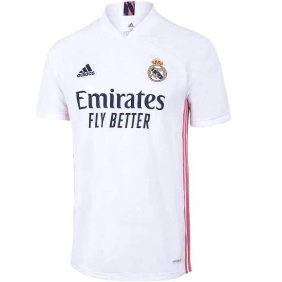 20/21 Real Madrid Home Jersey - Jersey Loco