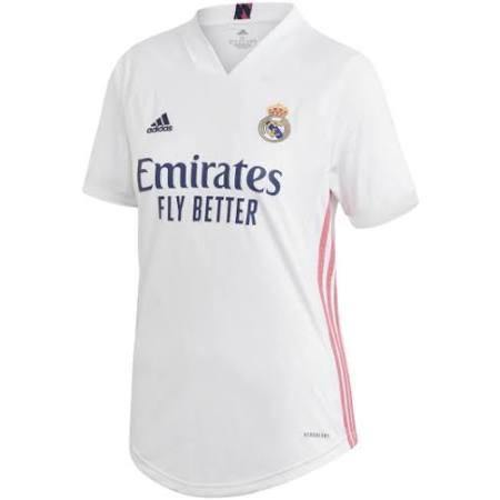 20/21 Real Madrid Women Home Jersey - Jersey Loco