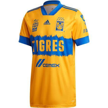 20/21 Tigres Home Jersey - Jersey Loco