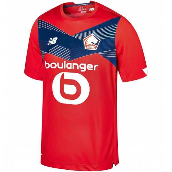 20/21 Lille OSC Home Jersey - Jersey Loco