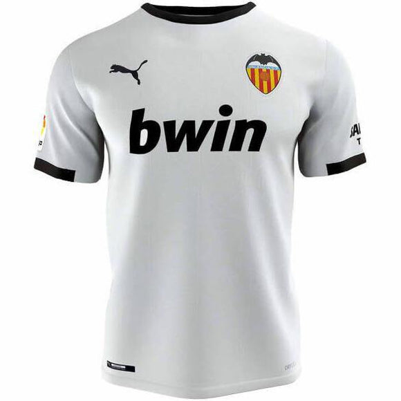 20/21 Valencia Home Jersey - Jersey Loco