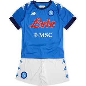 20/21 Napoli Home Kids Kit - Jersey Loco
