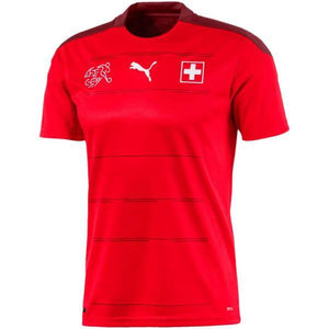 20/21 Switzerland Home Jersey - Jersey Loco