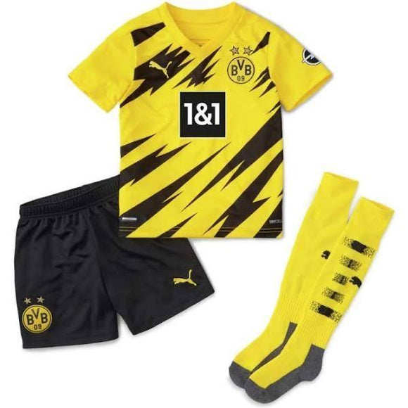 20/21 Dortmund Home Kids Kit - Jersey Loco