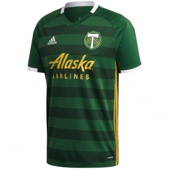 20/21 Portland Timbers Home Jersey - Jersey Loco