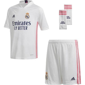 20/21 Real Madrid Home Kids Kit - Jersey Loco