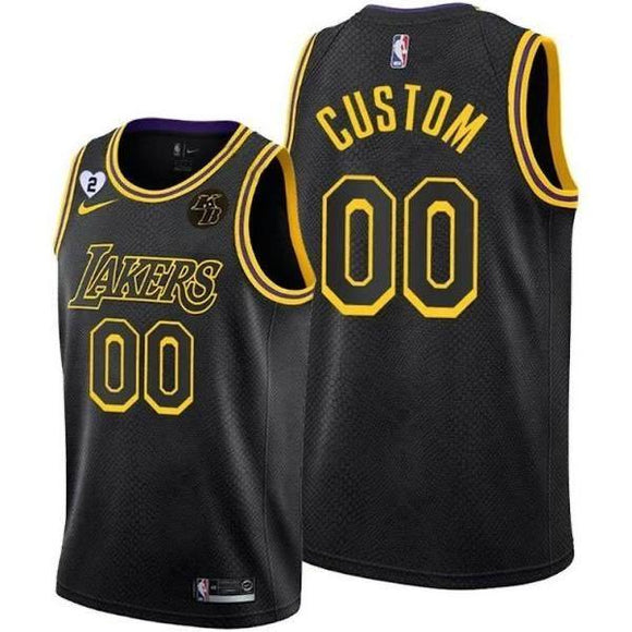 20/21 Lakers Black Mamba Jersey - Jersey Loco