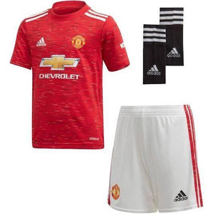 20/21 Manchester United Home Kids Kit - Jersey Loco