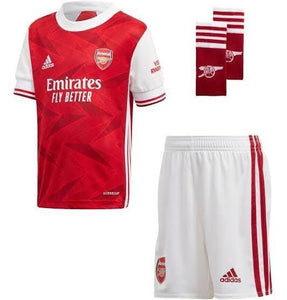 20/21 Arsenal Home Kids Kit - Jersey Loco