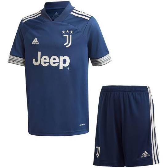 20/21 Juventus Away Kids Kit - Jersey Loco