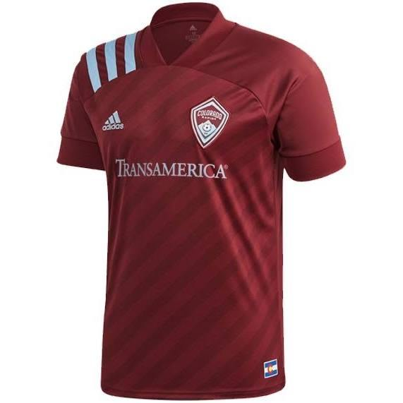 20/21 Colorado Rapids Home Jersey - Jersey Loco