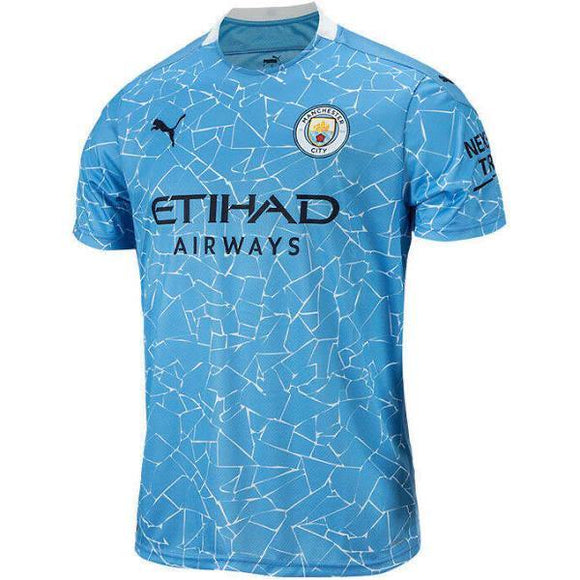 20/21 Manchester City Home Jersey - Jersey Loco