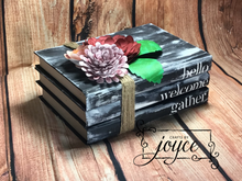 Load image into Gallery viewer, Book Stack Home Decor