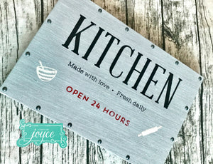 Kitchen Sign