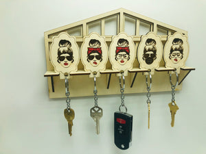 Keychain Wall Holder