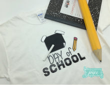 Load image into Gallery viewer, Chalkboard Shirt - Back to School Designs