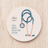 Stethoscope Best Doctor Coaster