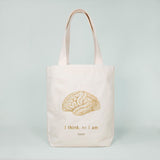 Multi Pocket Canvas Bag - Brain