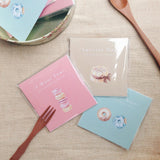 donuts cake macaroon cards