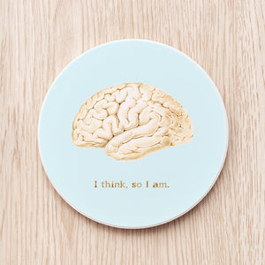 Brain Ceramic Coaster