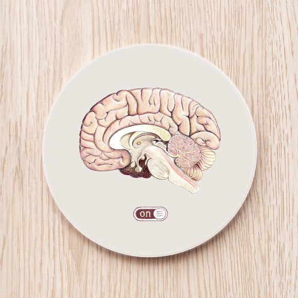 Brain Power Coaster