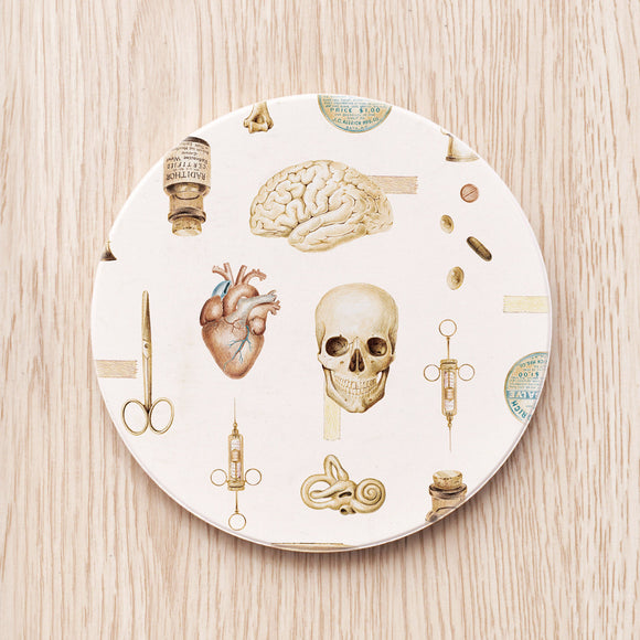 Vintage Medical Art Coaster