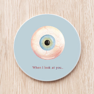 Eyeball Ceramic Coaster