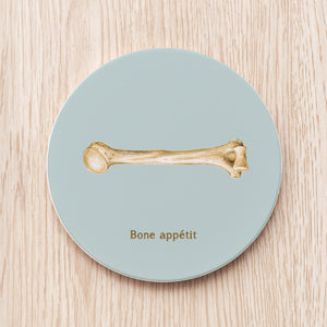 Bone Ceramic Coaster