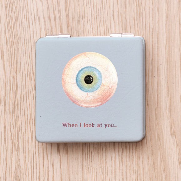 Eyeball Compact Mirror